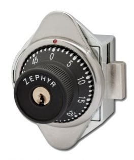Locks, Built in Combination Locks, Zephyr Lock 1931 Series Vertical Dead Bolt Locks RH