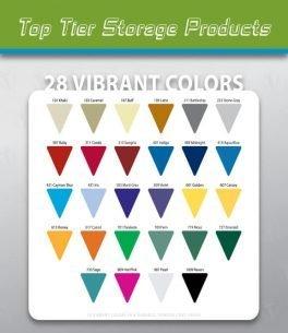 Locker Color Charts Top Tier Color Chart