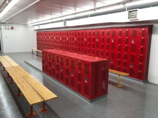 Highland HS New Lockers-1